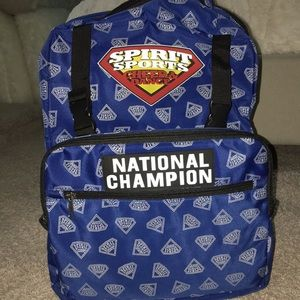Spirit Sports National Champ Backpack- Varsity